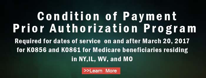 Condition of Payment Prior Authorization