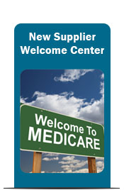 Supplier Welcome Center